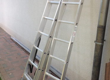 Leiter 5m ausziehbar 3-Teilig